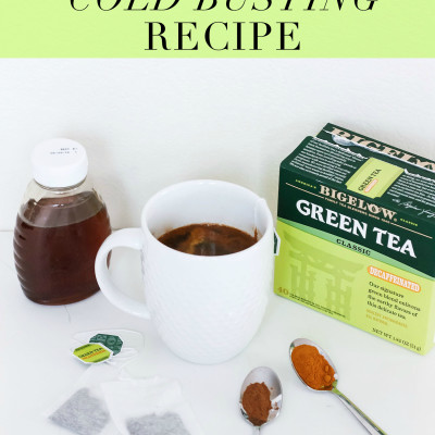 Bigelow Green Tea Cold Busting Recipe