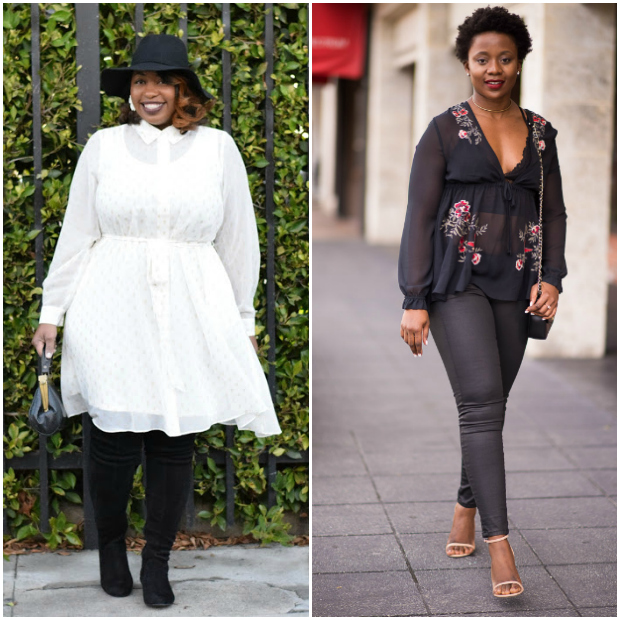 Fashion bloggers from the Flashback Fashion Friday Link Up