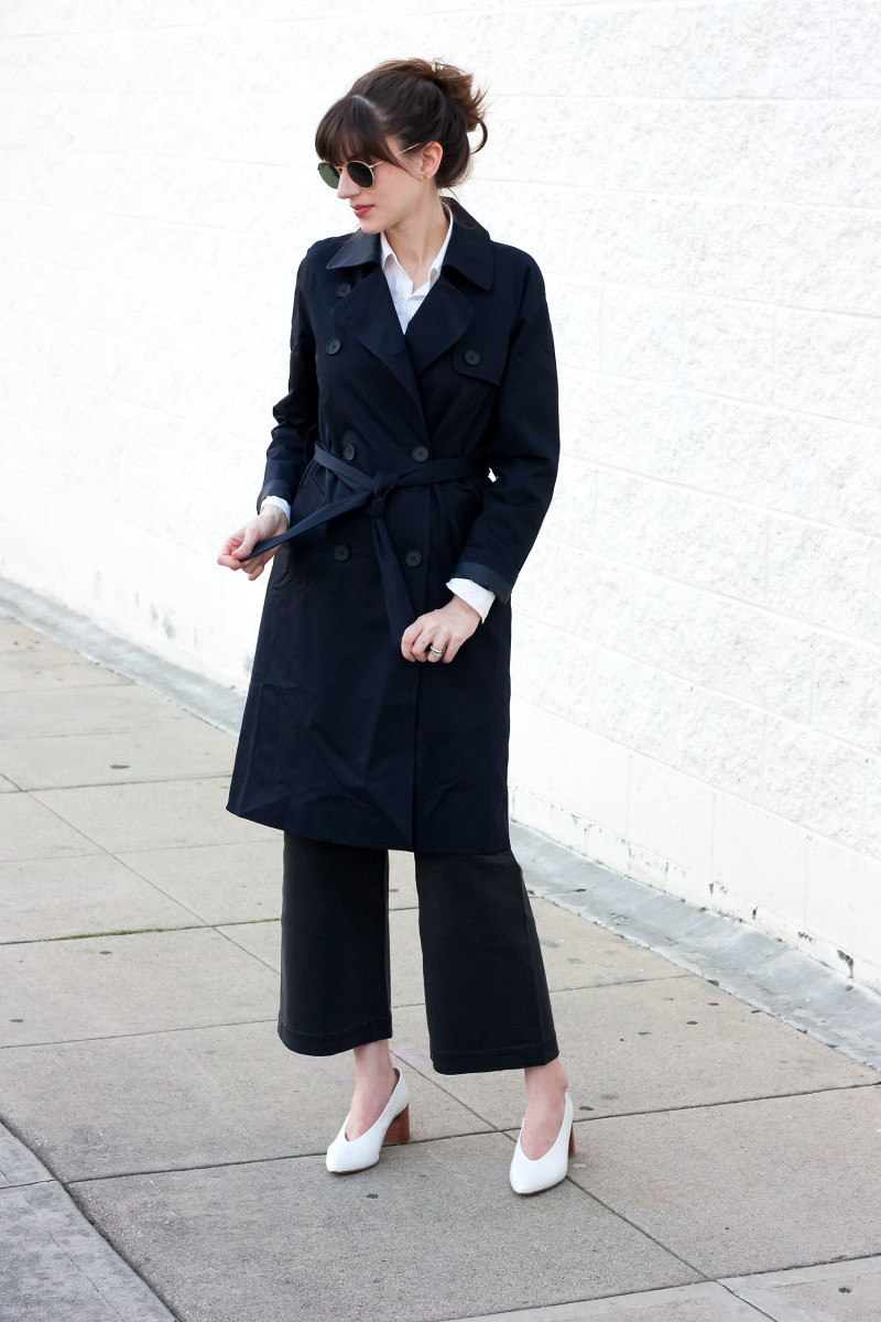 Los Angeles Style Blogger wearing Everlane