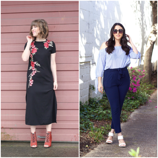 Bloggers featured in the Flashback Fashion Fridays Link Up