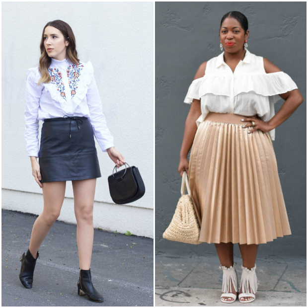 Featured bloggers from the Flashback Fashion Fridays linkup