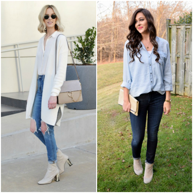 Bloggers featured in the Flashback Fashion Fridays Link Up on Jeans and a Teacup