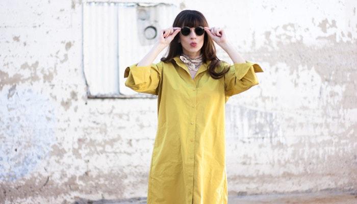 Minimalist Shirt Dress