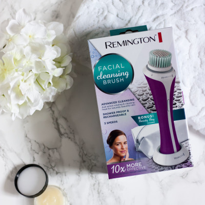 Simplify your skincare routine with the Remington Facial Cleansing Brush!