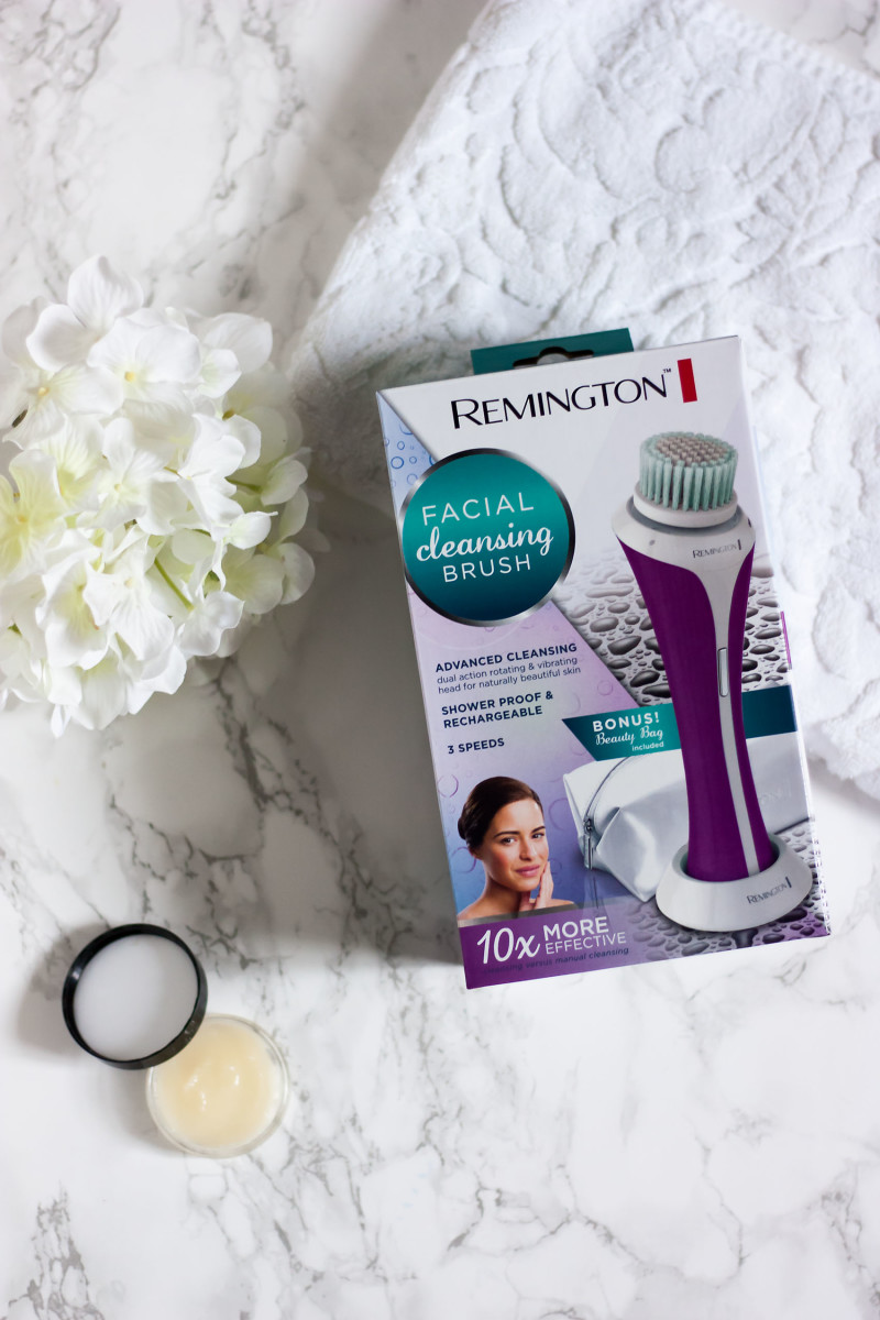 Remington Facial Cleanser in box
