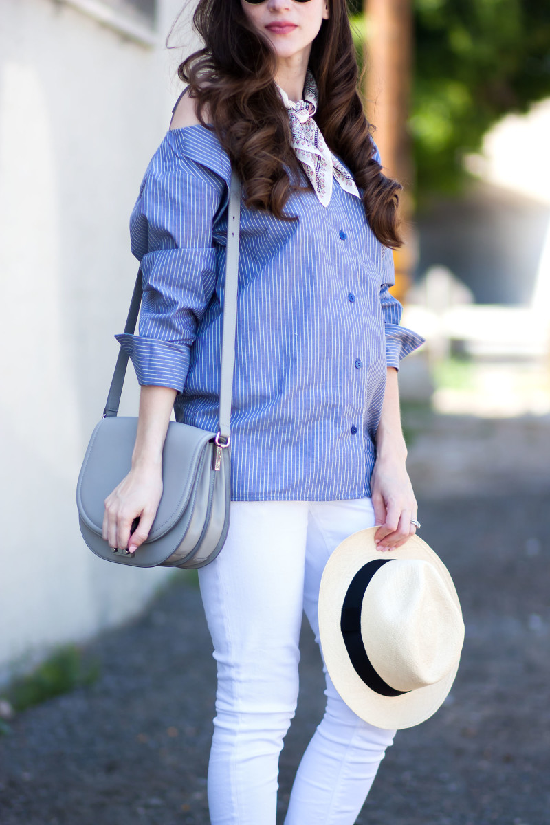 Los Angeles Fashion Blogger wearing Minimalist Fashion Brand Achro