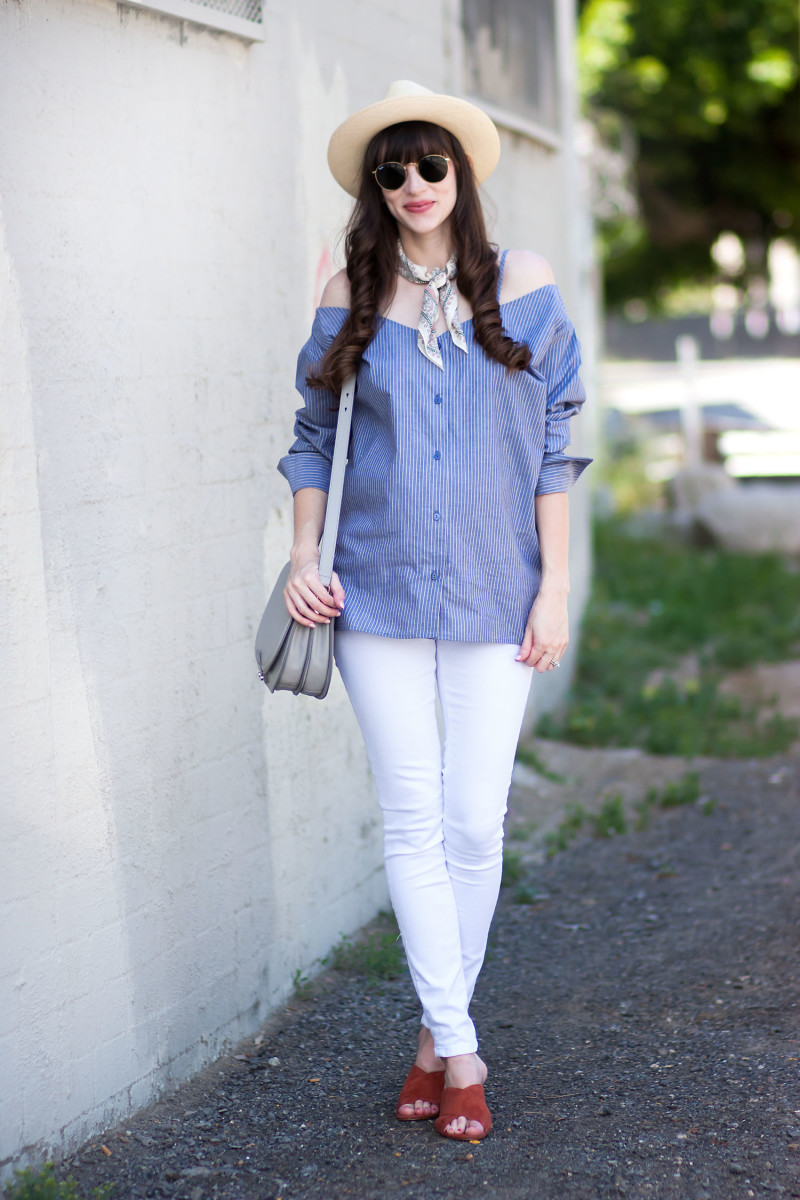 Los Angeles Minimalist Style Blogger wearing Achro Shirt