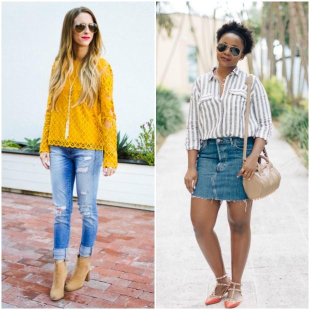 Fashion Bloggers from the flashback fashion fridays linkup