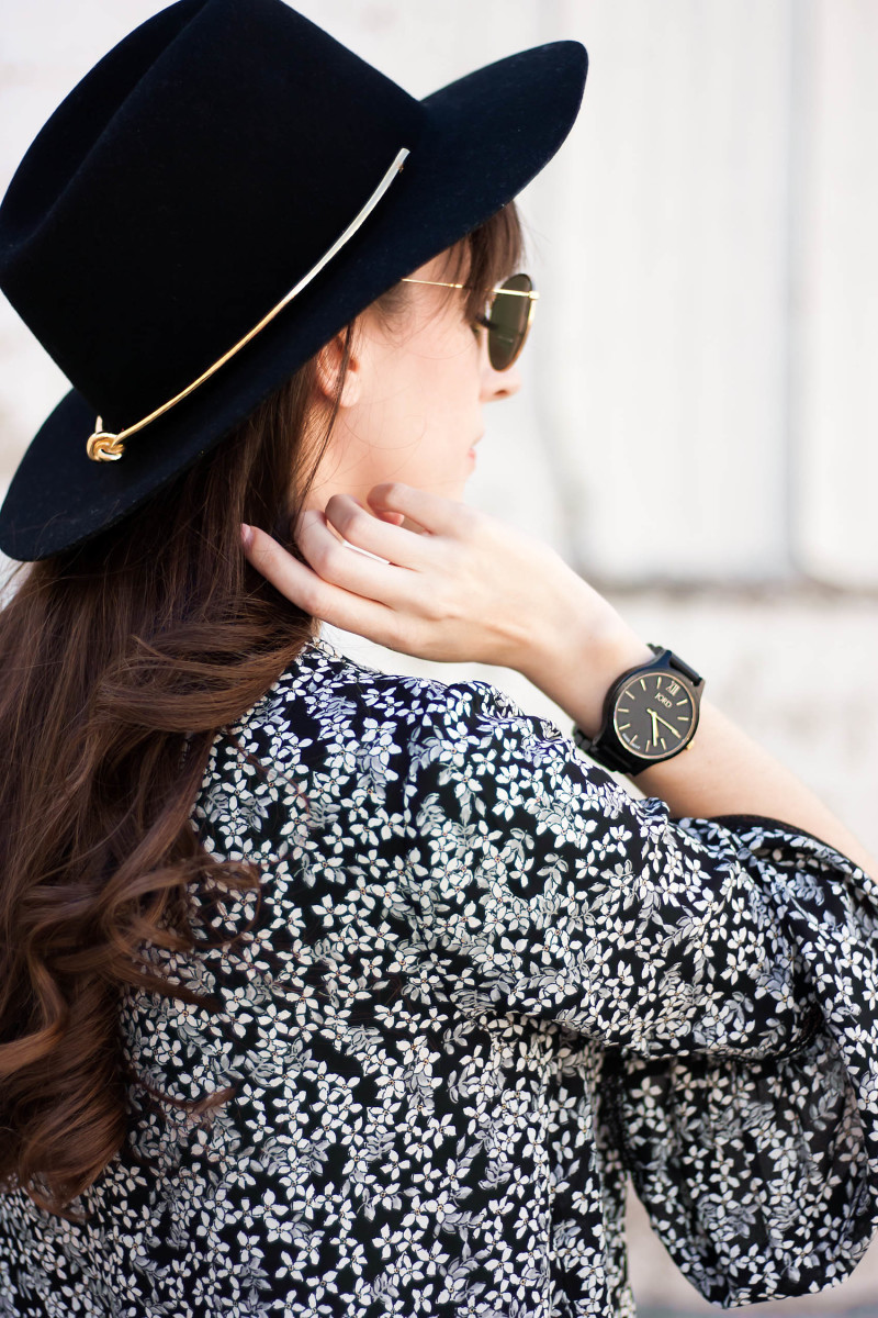 Jord Wood Watch on Style Blogger Jeans and a Teacup