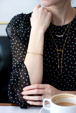 Minimalist jewelry collection from Motif