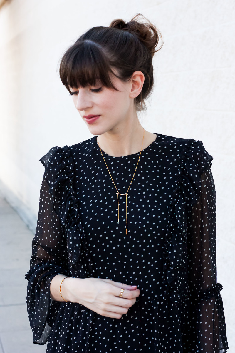 Jeans and a Teacup Style Blogger wearing Motif Jewelry collection