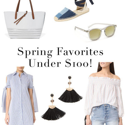 Shopbop Sale Early Access! Spring Favorites Under $100