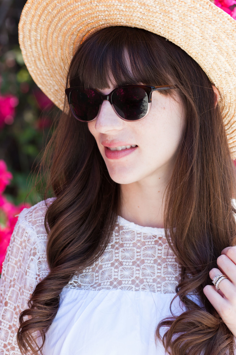 Los Angeles Blogger wearing Warby Parker Laurel Sunglasses