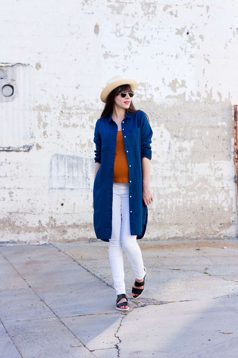Everlane Linen Shirt Dress Jeans And A Teacup