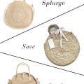 Straw Circle Bags