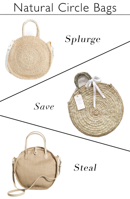 Natural Fiber Summer Bags