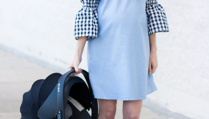 CYBEX Cloud Q Car Seat for Fashion-Forward Mamas + Linkup