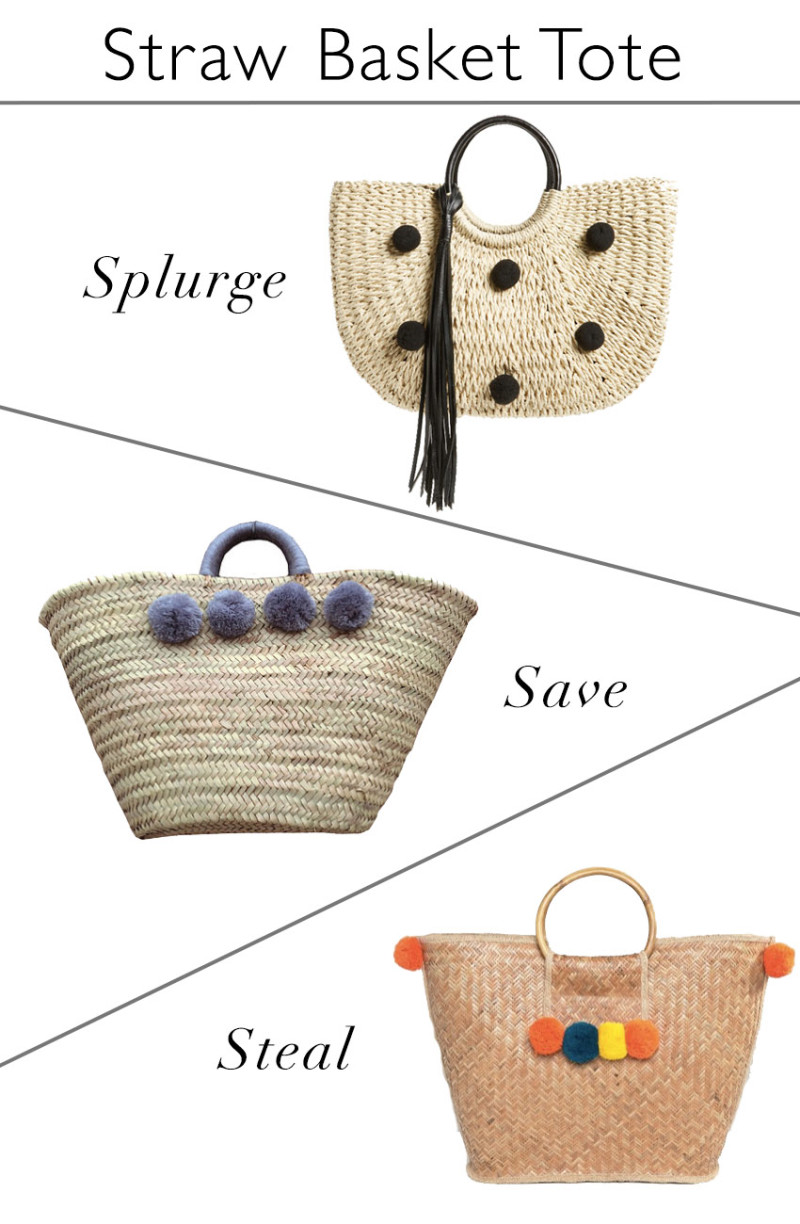 Straw Basket Totes