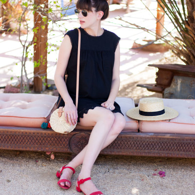 Little Black Dress for Summer + Link Up