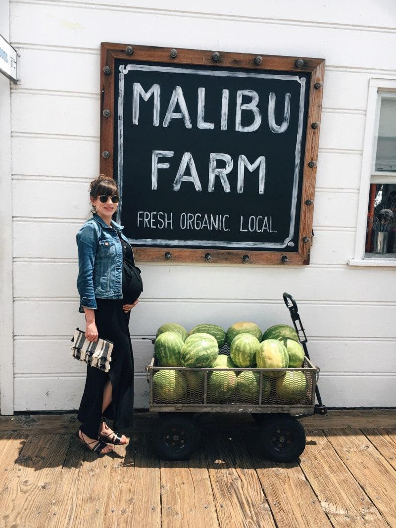 Style Blogger at Malibu Farm