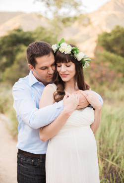 California Fashion Blogger Maternity Photo Shoot