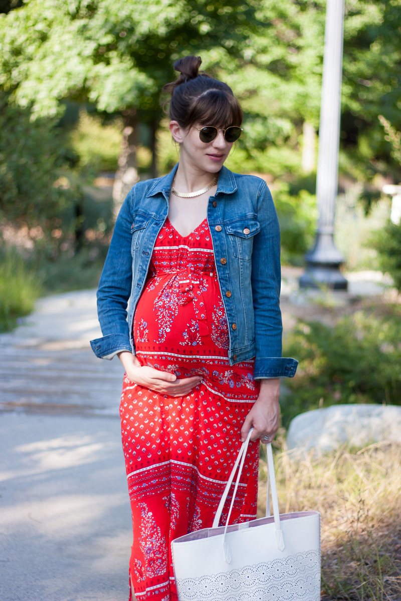 Maternity Maxi Dress from Old Navy Style