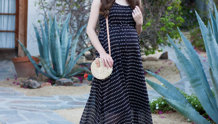 Maxi Dress for Summer + Link Up