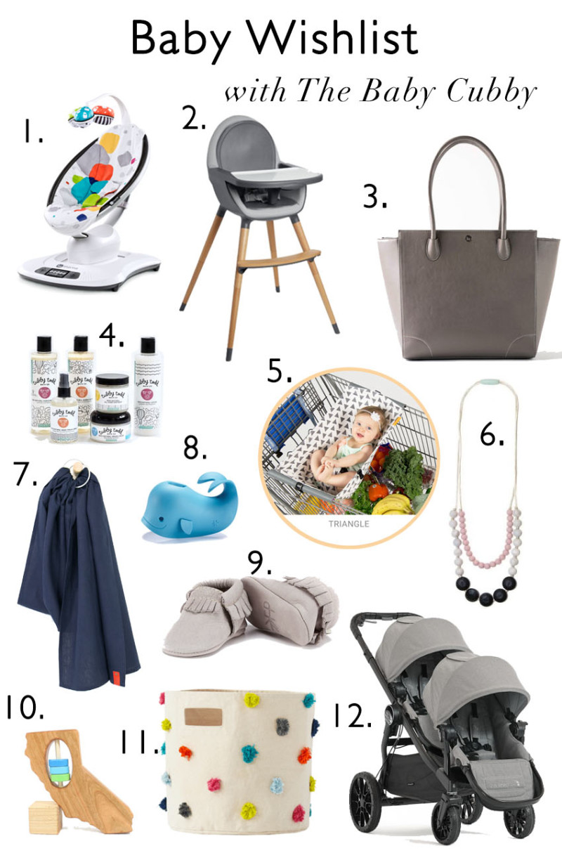 Newborn Essentials from The Baby Cubby