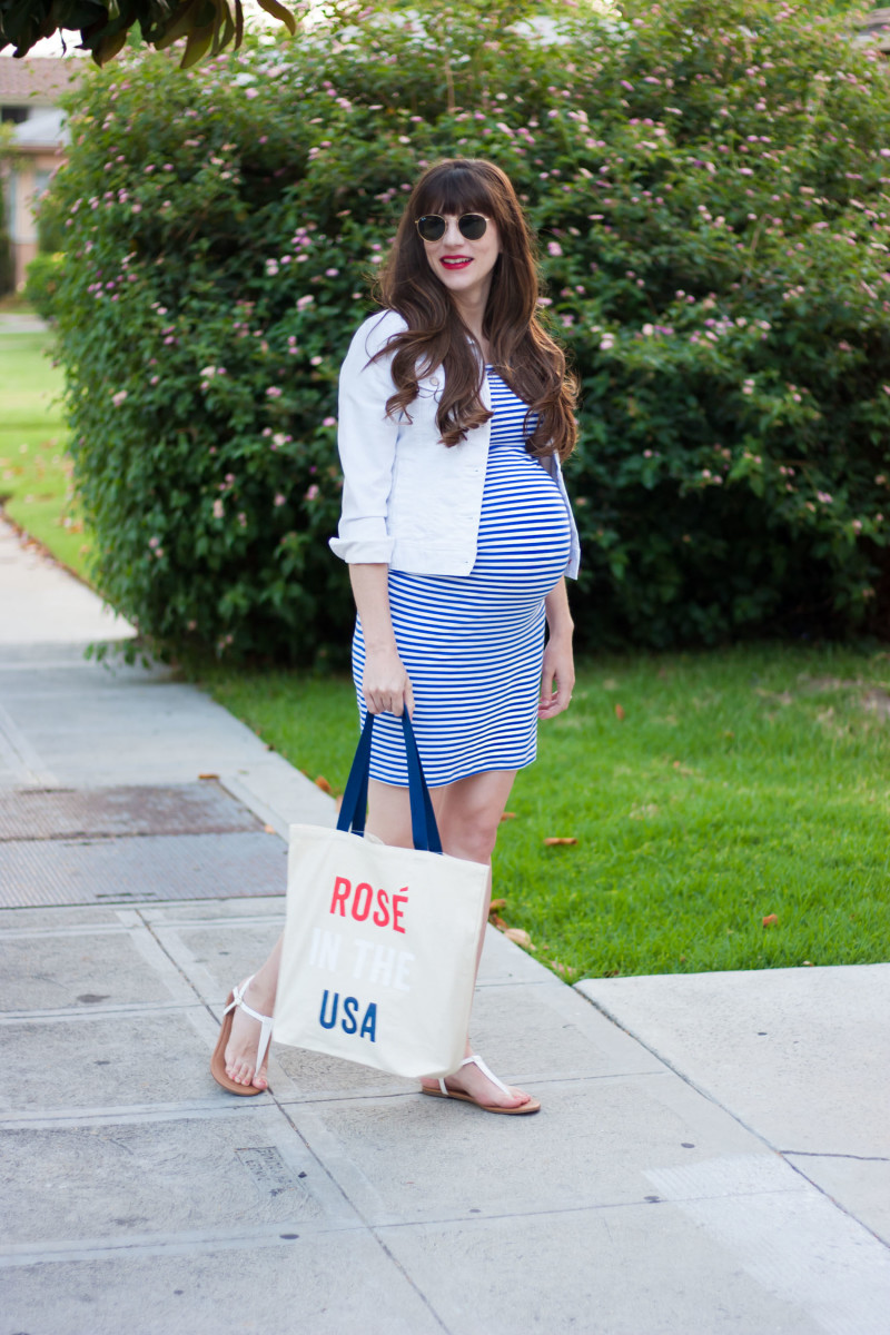 Old Navy Fourth of July Style with Los Angeles Style Blogger Jeans and a Teacup