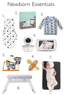 A guide of Newborn Essentials
