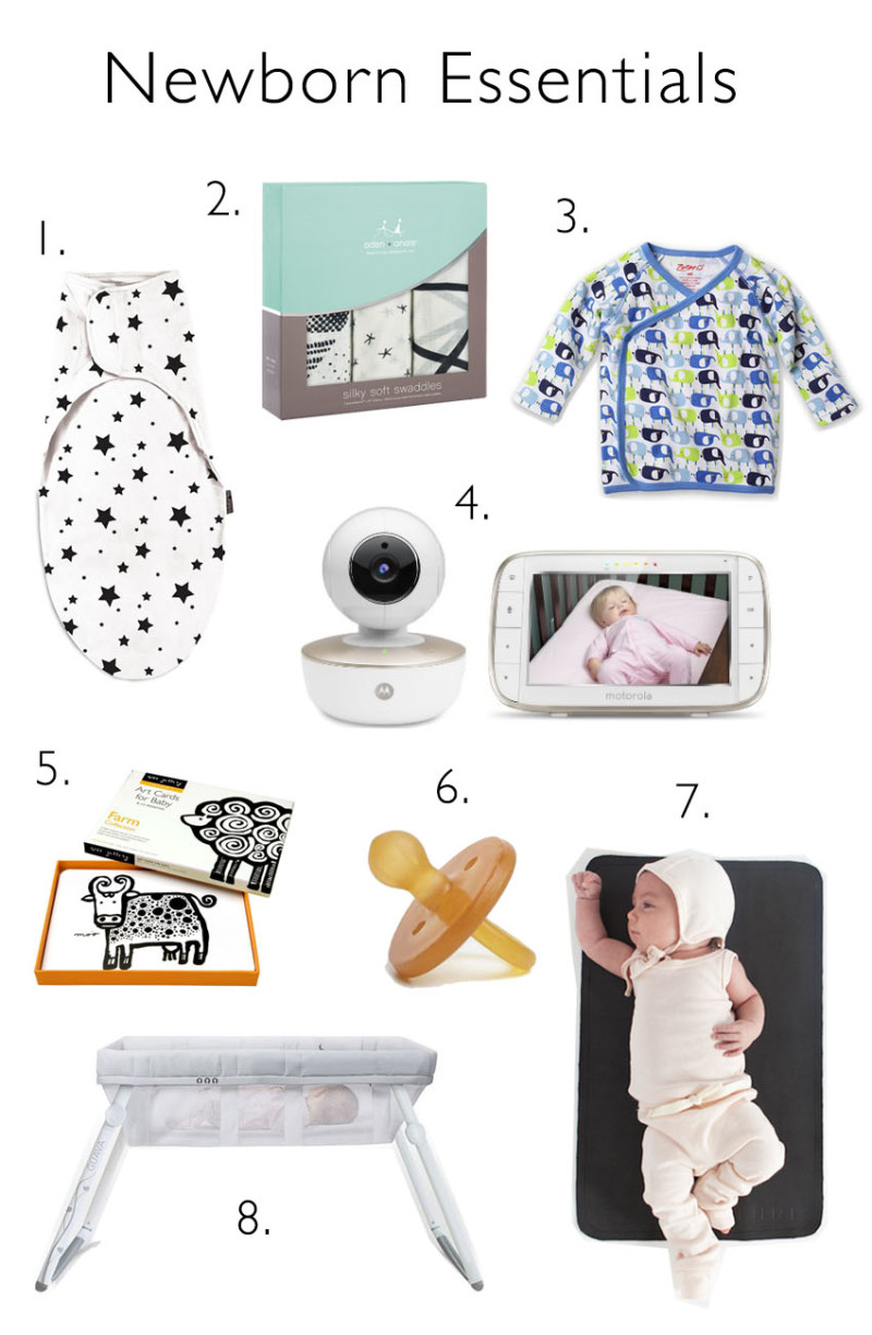 A guide of Newborn Essentials