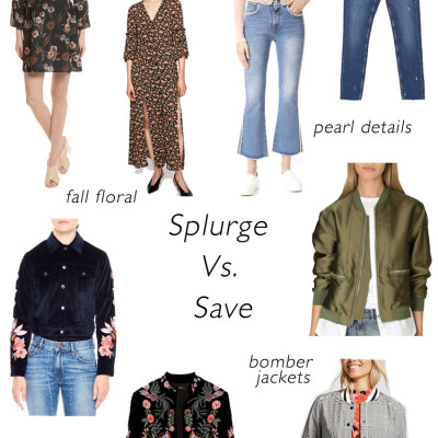 Fall Fashion Trends: Splurge Vs. Save