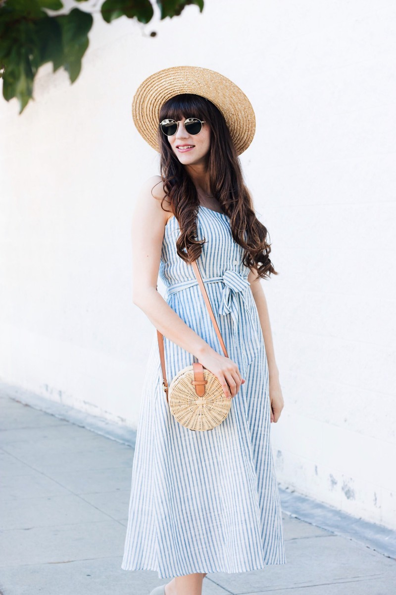 Budget Friendly Style Blogger wearing Who What Wear Collection dress from Target