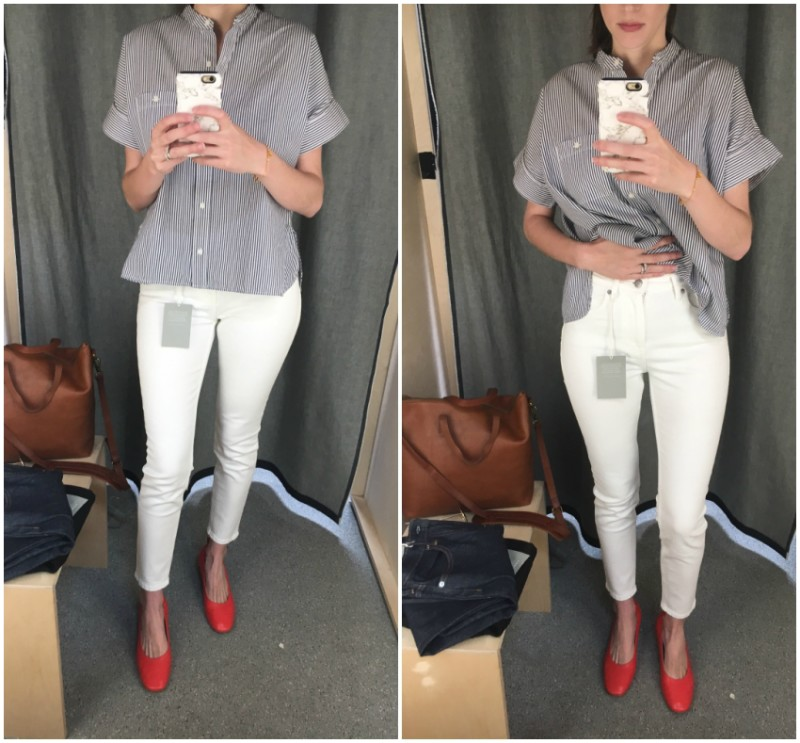 Everlane Denim Try On Review