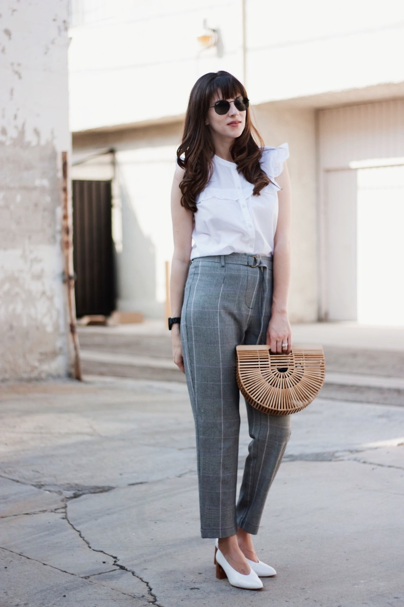 Los Angeles Minimalist Blogger Wearing Who What Wear Collection