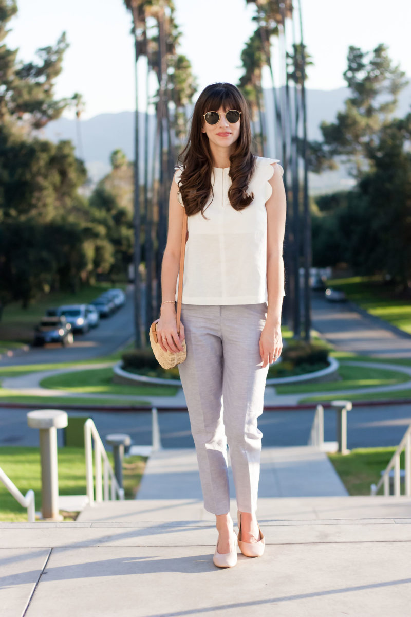 Los Angeles Style Blogger at the Brand Library