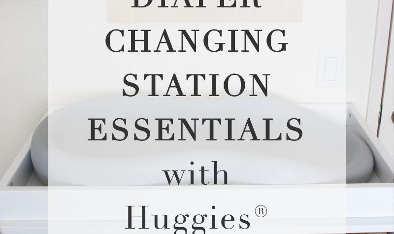 Diaper Changing Station Essentials