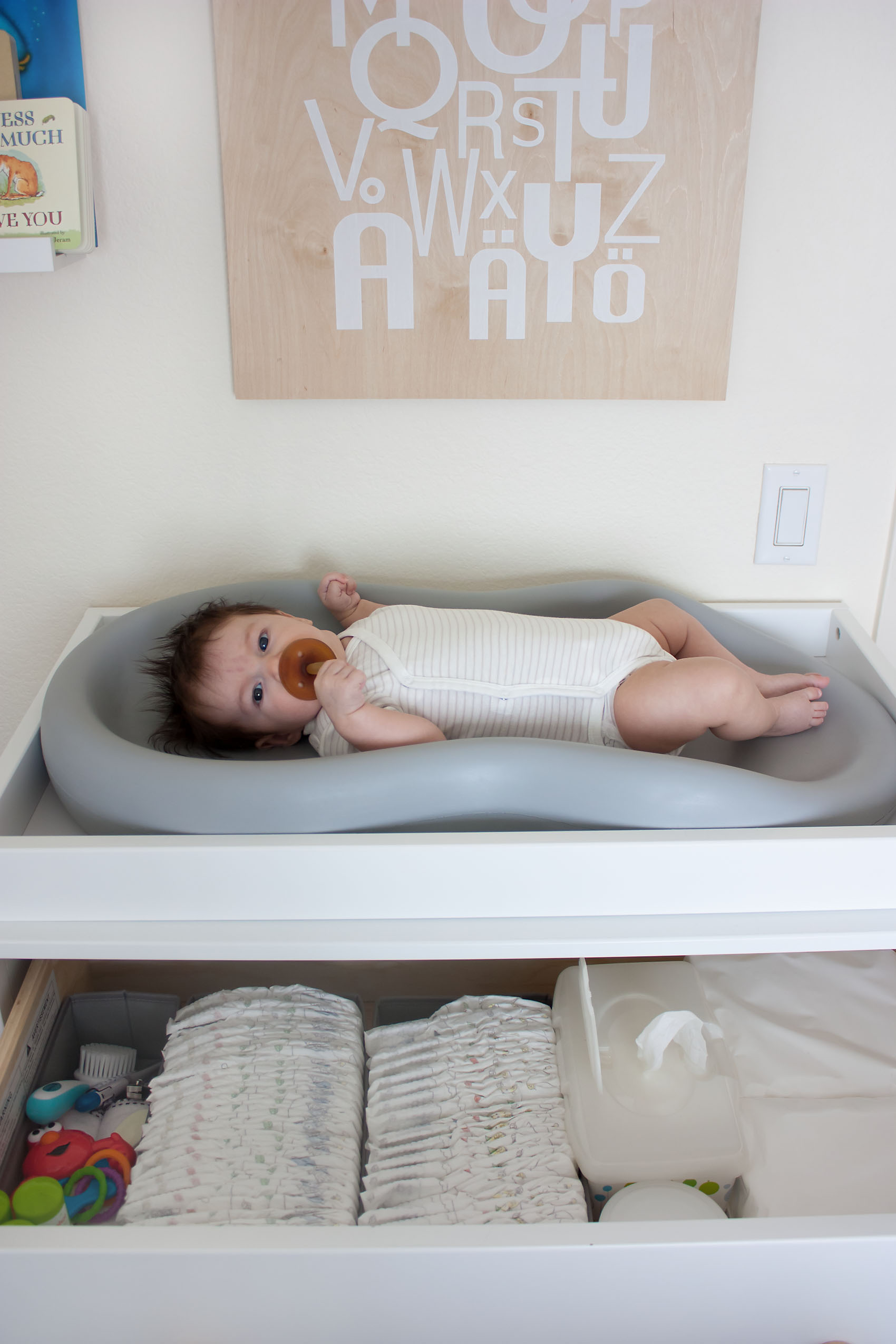 Baby on Changing Table