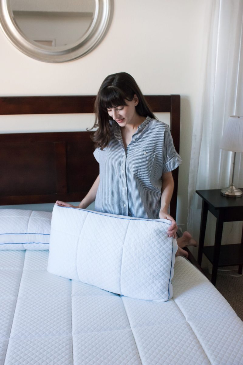 NECTAR Mattress review by blogger Jeans and a Teacup