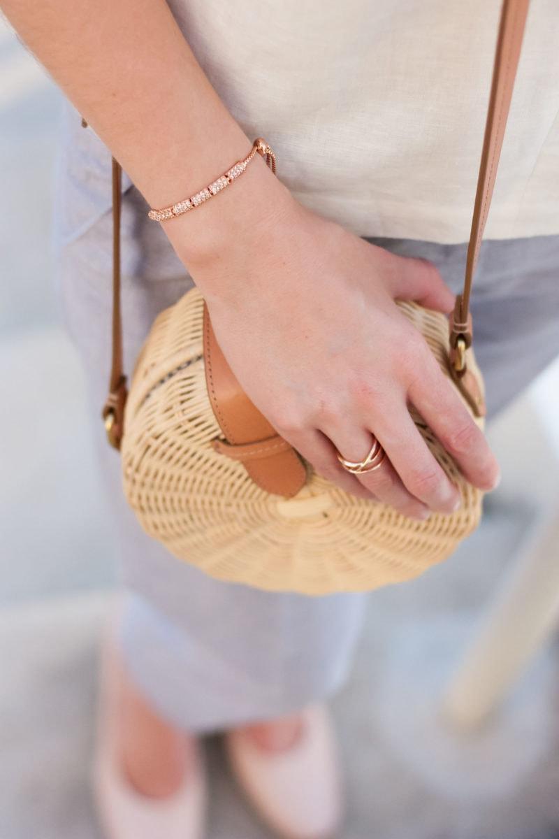 Premier Designs rose gold Flirty Bracelet and Serene Ring