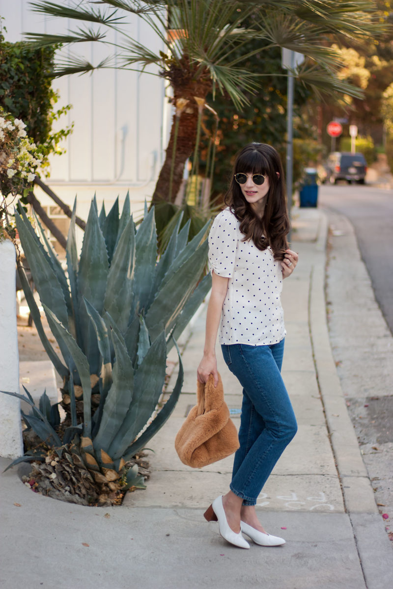 Los Angeles Style Blogger wearing Reformation
