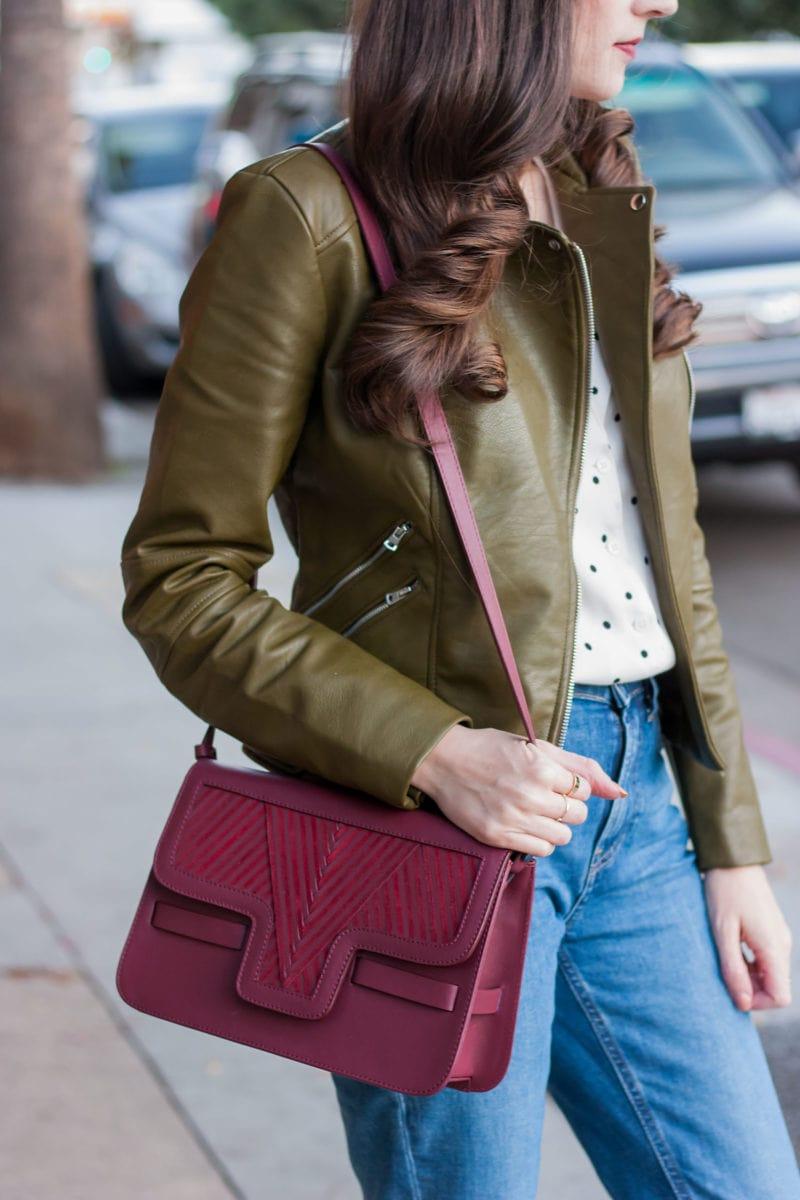 Los Angeles Fashion Blogger with Lili Radu Bag
