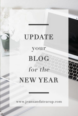 Tips on how to update your blog for the New Year