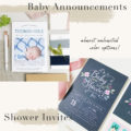 Basic Invite Baby Invitations
