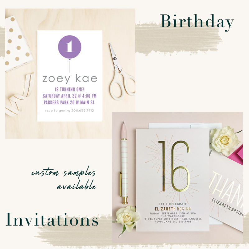 Unique Invitations from Basic Invite - Jeans and a Teacup