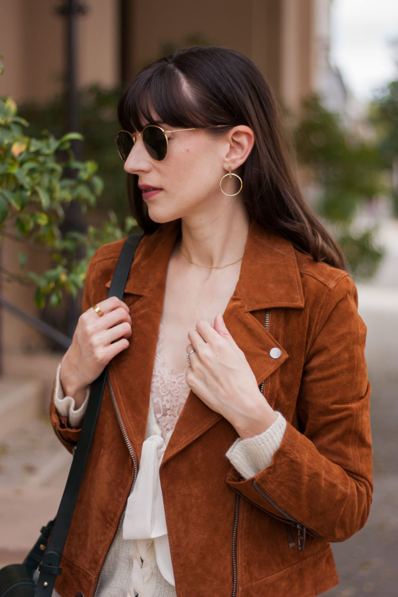 Los Angeles Style Blogger wearing affordable fine jewelry from AUrate