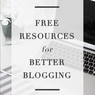 Free Resources for Better Blogging