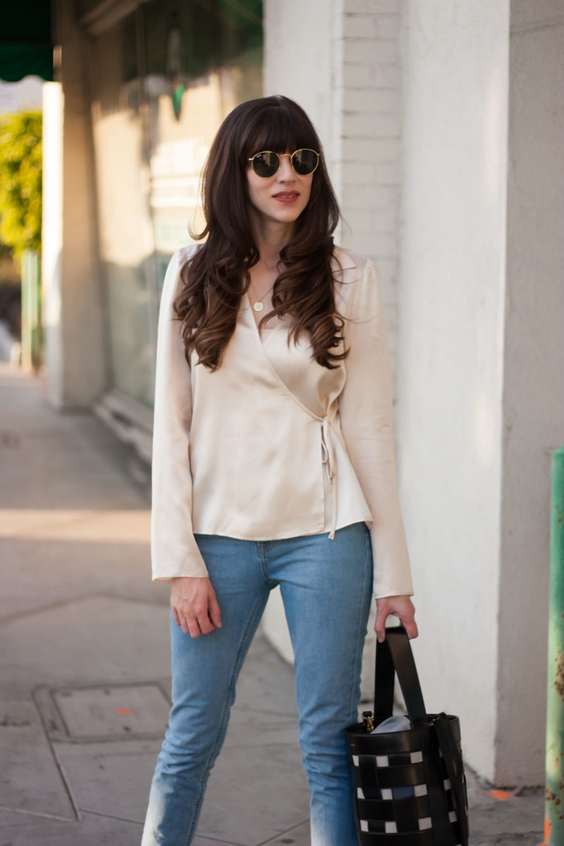 Minimalist Style Blogger wearing Ethical Fashion Brands