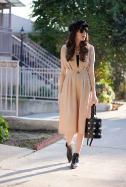 Trendy Romper on Los Angeles Style Blogger