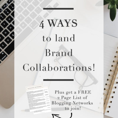 4 Ways to Land Brand Collaborations